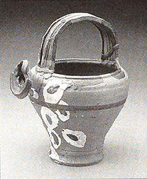 Stoneware, Betty Woodman with George Woodman, Italy, 1966.