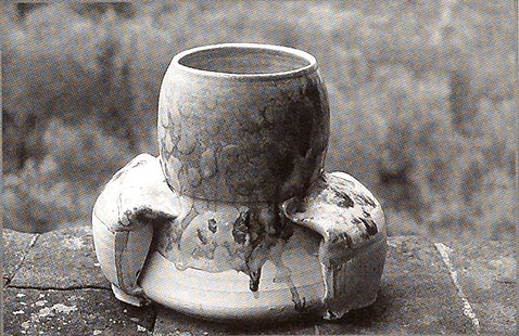 Betty Woodman. Ceramic Form. Italy, 1975.