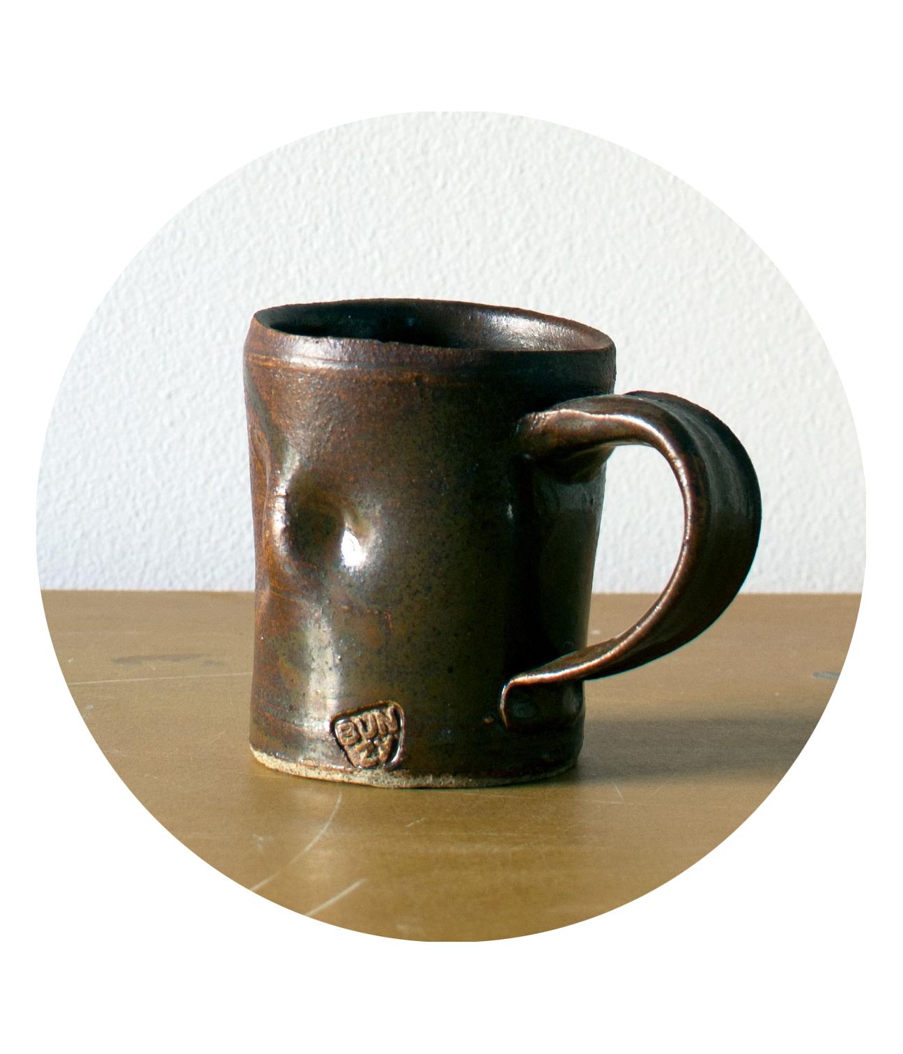 Bech Evan's mug by Bunzy Sherman