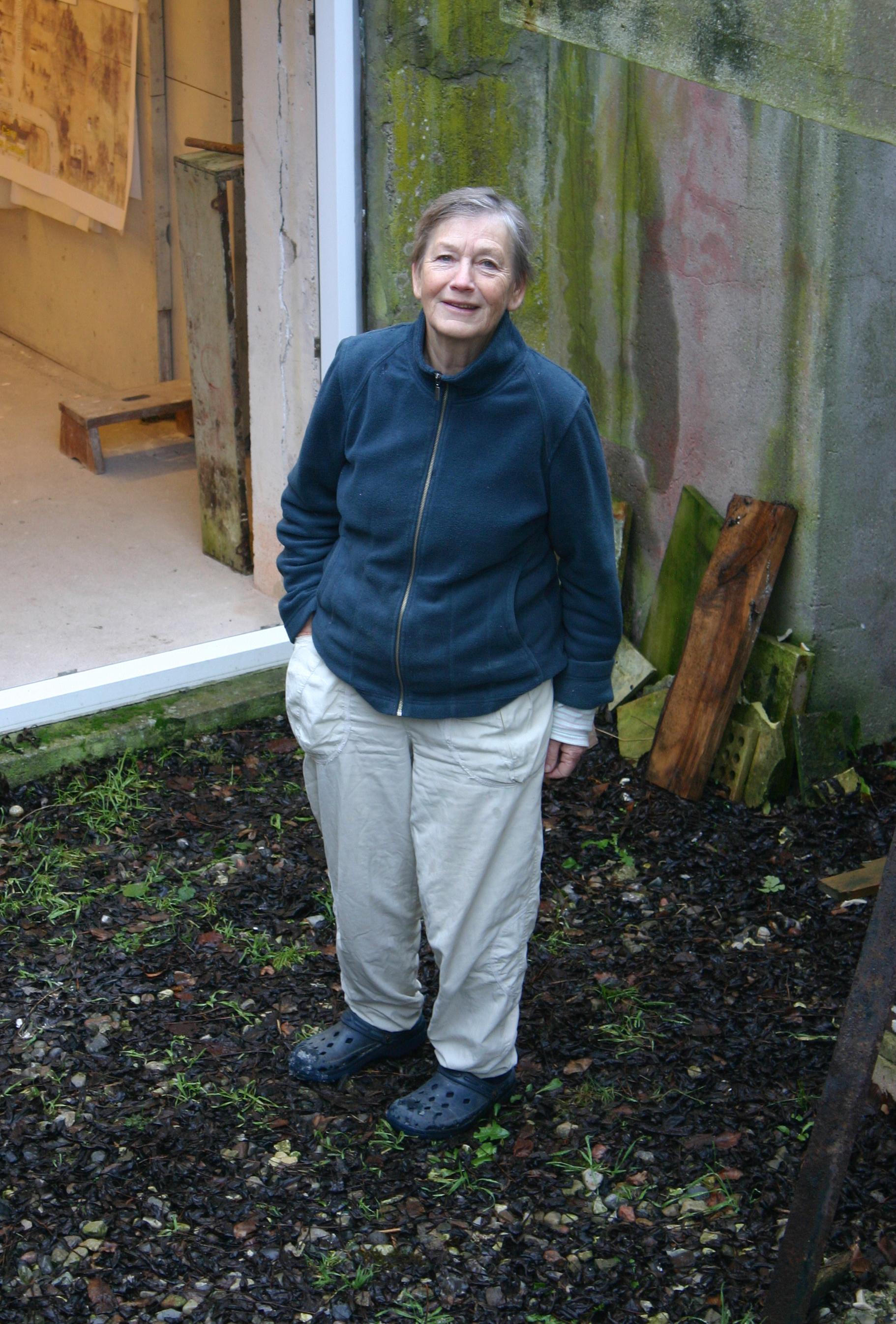 Hole at her home in Skaelskor, Denmark, 2012.
