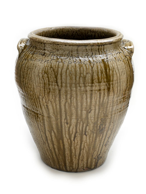 """Jar by """"Dave,"""" 1862, courtesy of The National Museum of American History"""