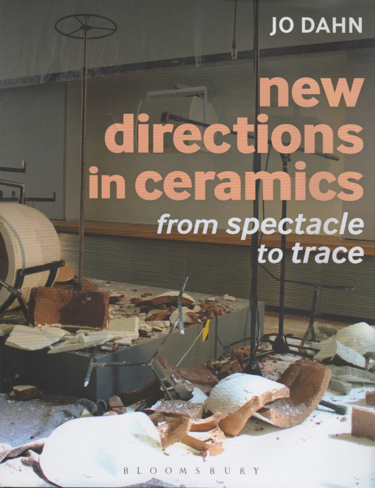 Cover, New Directions in Ceramics by Jo Dahn