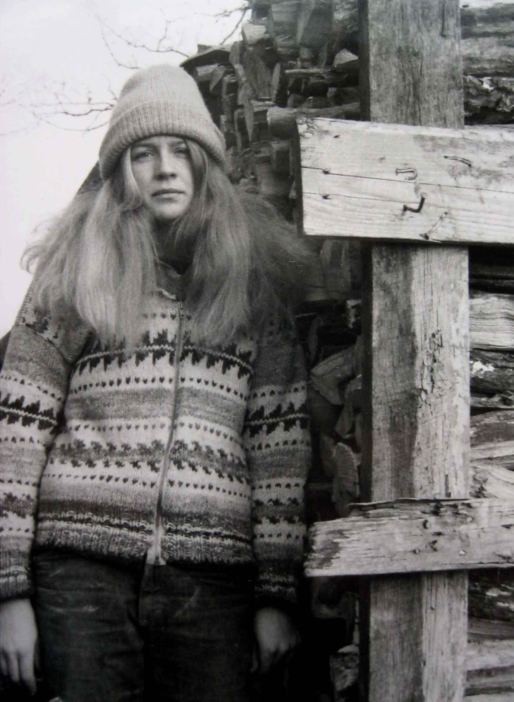Linda Christianson, 1977.