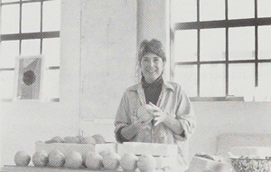 Nancy Selvin in her West Berkeley studio
