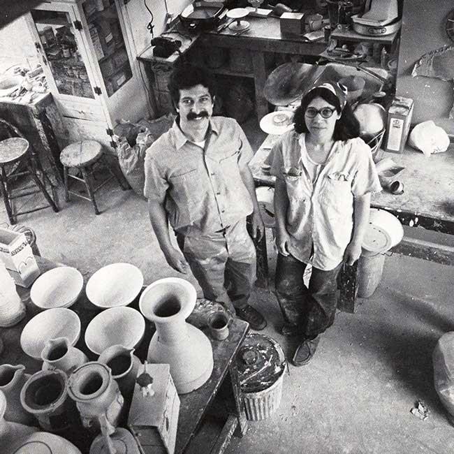 Paula and Robert Winokur, from Vol. 2, No.1, 1973.