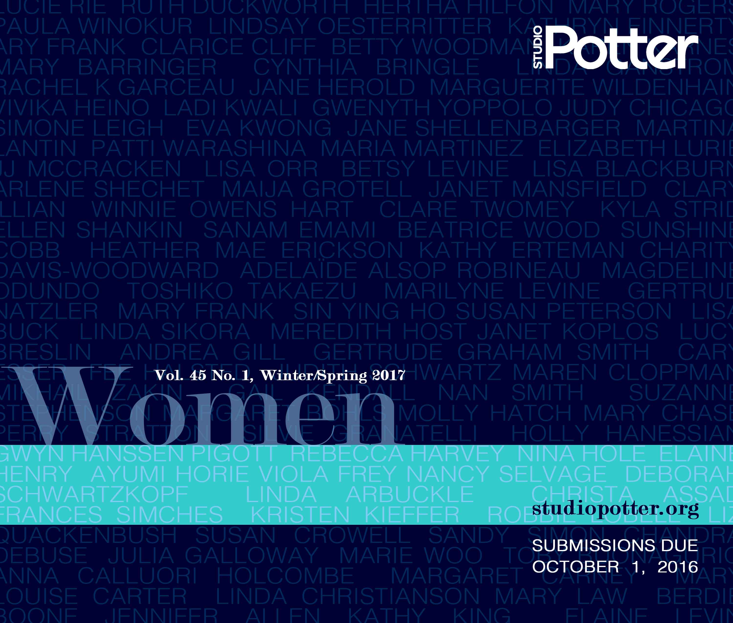Call for Papers, Women, Vol. 45, No. 1, Winter/Spring 2017