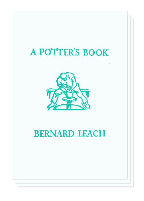 """A Potter's Book"" cover design."