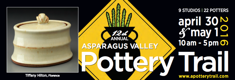 Asparagus Valley Pottery Trail brochure