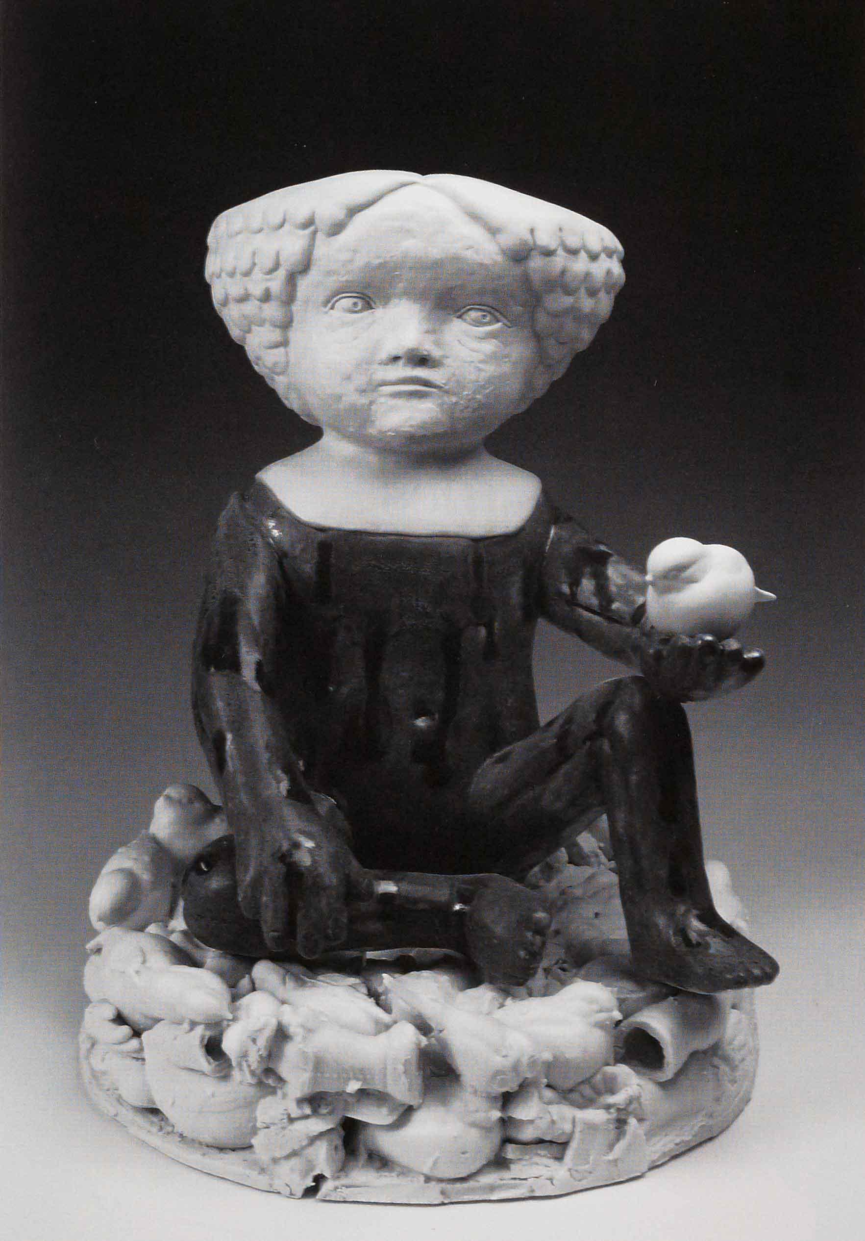 Ascendant, 2008. Porcelain. 24 x 13 in.