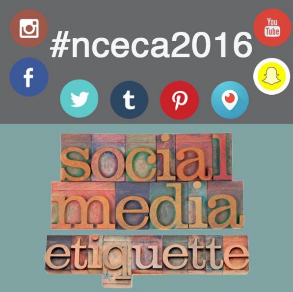 NCECA Instagram Etiquette Post