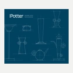 Cover, Studio Potter, Vol. 44, No. 2, Summer/Fall 2016, Function-Architecture
