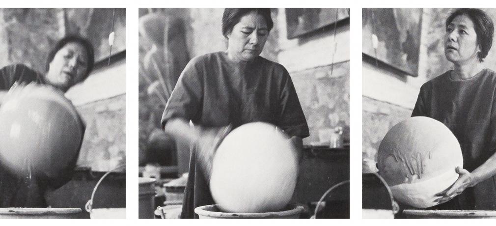 Toshiko Takaezu, from Vol. 2, No. 1, 1973.