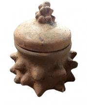 Vodu ritual pot in market, Dzodze, Volta Region, Ghana.