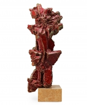 Hertha Hillfon. Untitled, 1965. Stoneware, 26 inches tall.