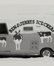 Ben & Jerry's CowMobile, from Vol. 18, No. 2, 1990