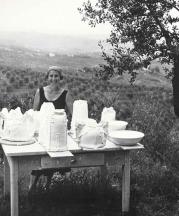 Betty Woodman in Italy.