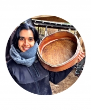 Ashwini Bhat. Photo by Hollis Engley, 2016.