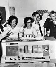 DePauw University IBM 1620 Computer, 1968