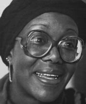 Grace Hampton, photographed by Carol Long, Jackson, Mississippi, 1982.