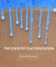 Title Page, State of Clay Education, by Stephen Creech, Vol. 46, No. 2, 2018.