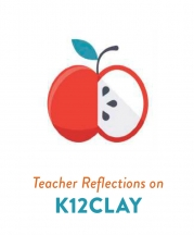Title Page, Teacher Reflections on k12clay, Vol. 46, No. 2, 2018.