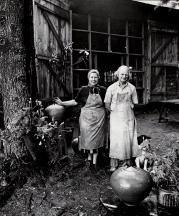 Vivika and Otto Heino, Hopkinton, New Hampshire (1972)