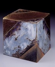 Harriet Harriet Brisson. Clouds, 1990. Stoneware clay, reduction fired to Cone 10, 7x7x7 in.