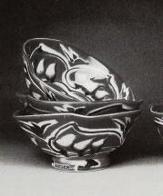 Porcelain bowls by Sarah Jaeger.