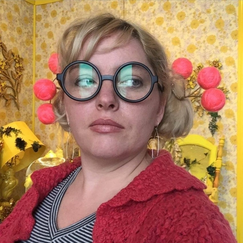 Leanne McClurg Cambric. Selfie, 2016.