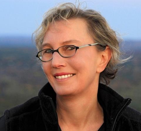 Leslie Ferrin, photographed by John Polak.