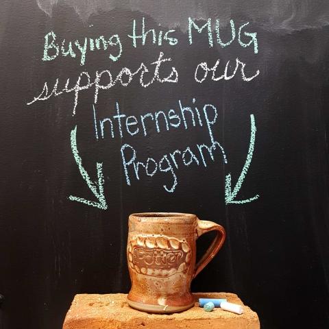 SP Logo Mug by David McBeth - supports our interns!