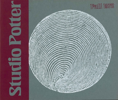 The First Issue - Vol. 1 No. 1, Fall1972