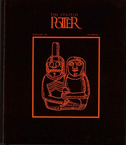 Wisconsin Potters - Vol. 16 No.1, December 1987