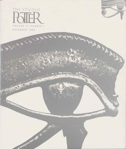 Utah Potters / Perception - Vol.17 No. 1, December 1988