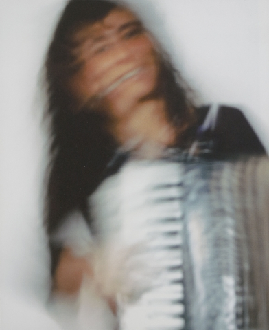gwendolyn yoppolo playing the accordion, from Vol. 37, No. 1, 2008.