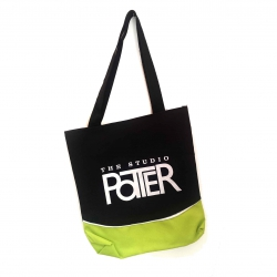 2015 Logo Tote, Black/Green