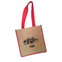 2015 Moon Potters Tote - Red/Kraft