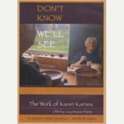 Karen Karnes DVD Cover, 2008.