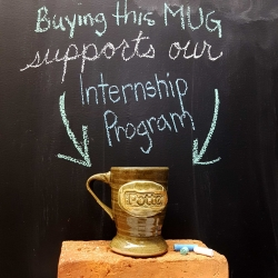 SP Logo Mug by David McBeth - supports our interns!