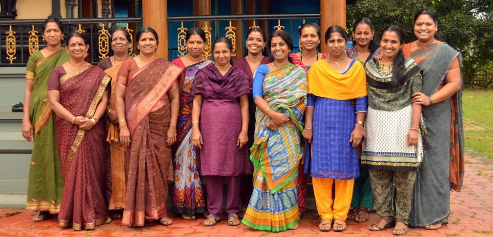 The Mananthavady women's ceramics workshop group, 2015. Photo by Jaya Kumar K.