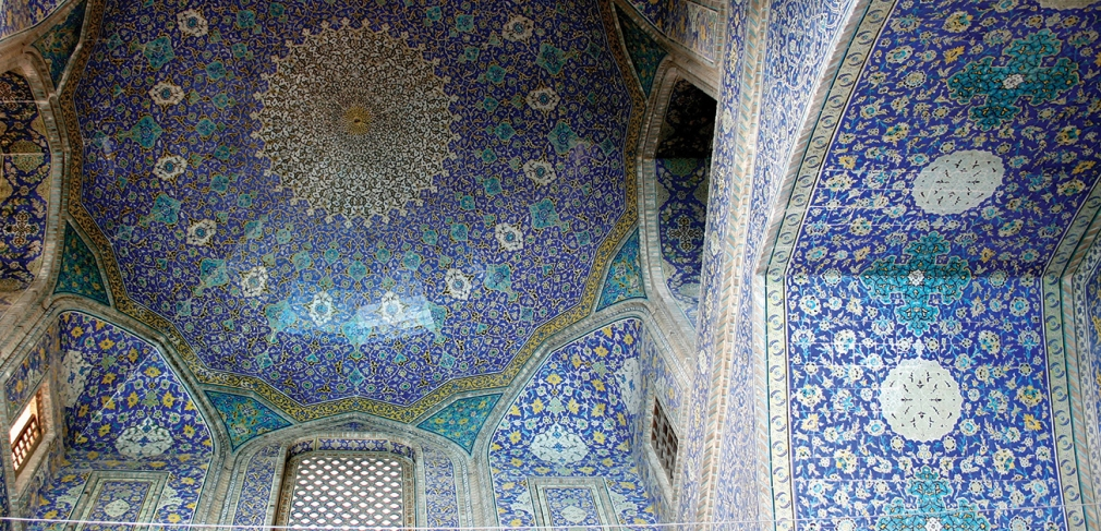 Masjid-I Shah (Royal Mosque), Isfahan, Iran, early 17th century.