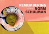 Title page design - Remembering Norm Schulman by Alan Willoughby et al.