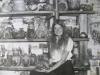 Pamela Nagley Stevenson with her early work, 1977.