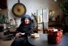 The artist and sculptor Hertha Hillfon in her studio, Hägersten, Stockholm, Sweden, 2008. Photo by Dan Hansson, 2008; courtesy of TT/Sipa USA.