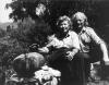 Vivika and Otto Heino, Ojai, California, 1993. Photo by Gerry Williams.