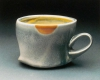 Cup. Salt-fired porcelain, H. 3 in.